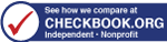 Rated by Checkbook.org